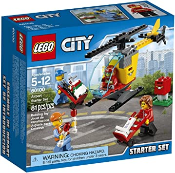 LEGO City Airport Starter Pack 60100-4 Minifigures