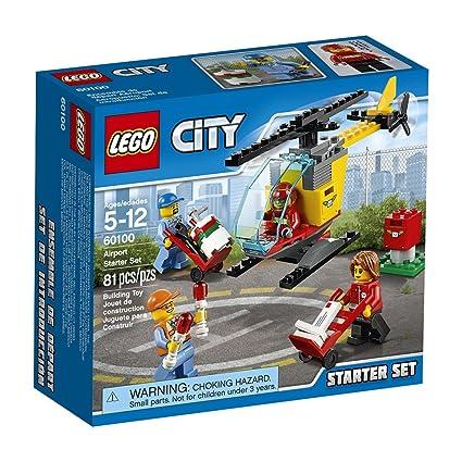 Amazoncom Lego 60100 City Airport Starter Set Building Kit 81