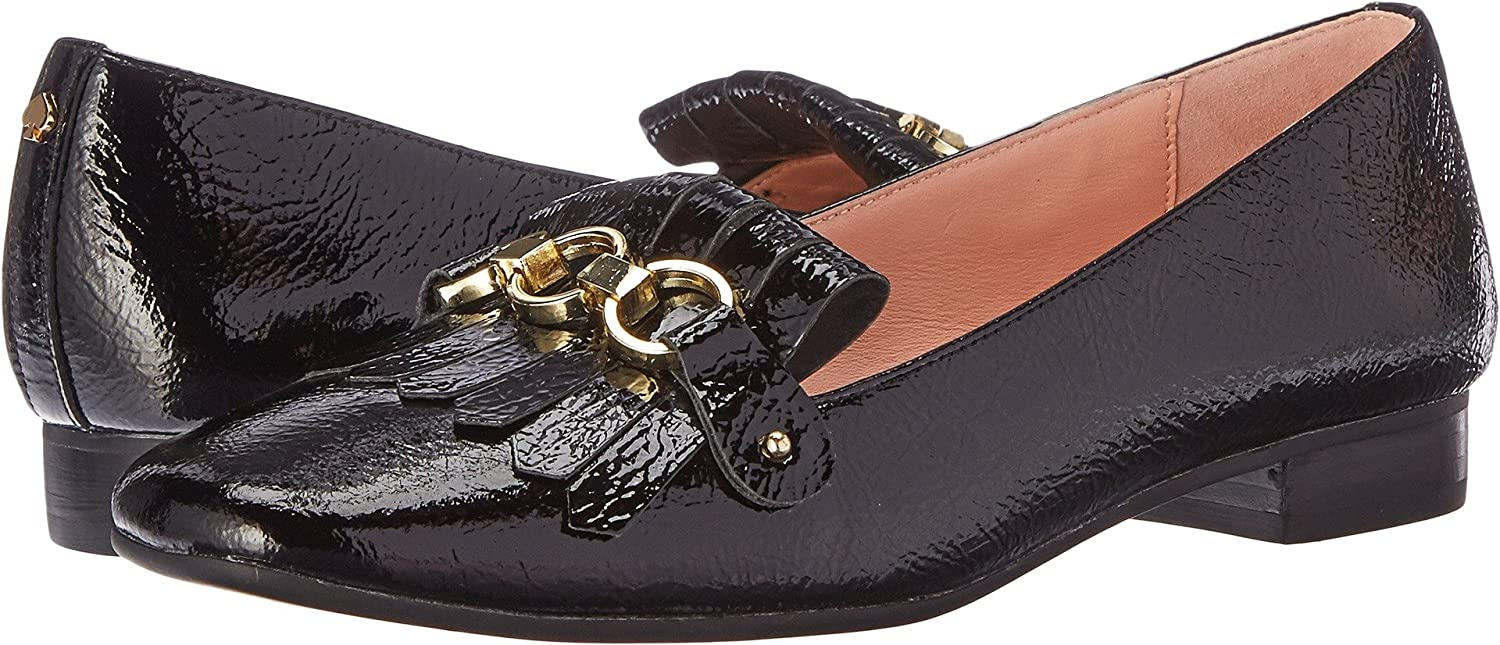 c3f54b15c0b kate spade new york Women s Karen Black Crinkle Patent 5.5 M US  Buy Online  at Low Prices in India - Amazon.in