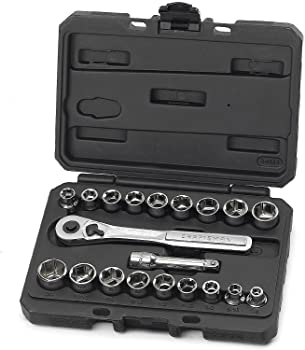 Craftsman 20 Pc. 6 Pt. Standard and Metric Wrench Set