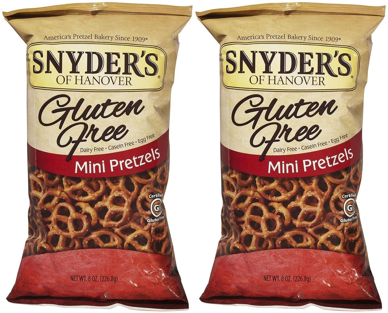 Snyder's of Hanover Gluten Free Mini Pretzels - 8 oz - 2 pk