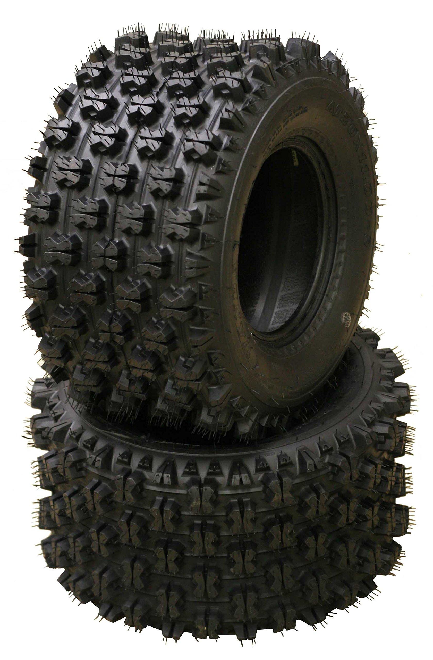 Set of 4 New Sport ATV Tires 22x7-10 Front & 22x10-10 Rear /4PR - 10077/10089 by Wanda (Image #3)