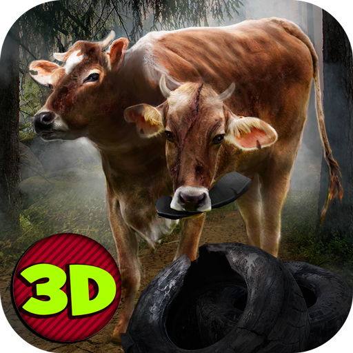 Mad Mutant Madness: Two-Headed Cow Survival]()