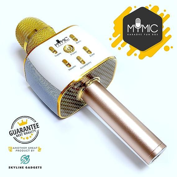Review Wireless Bluetooth Karaoke Microphone,