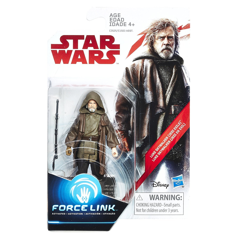 Star Wars The Last Jedi TLJ Luke Skywalker Target 3 pack Exclusive Force Link