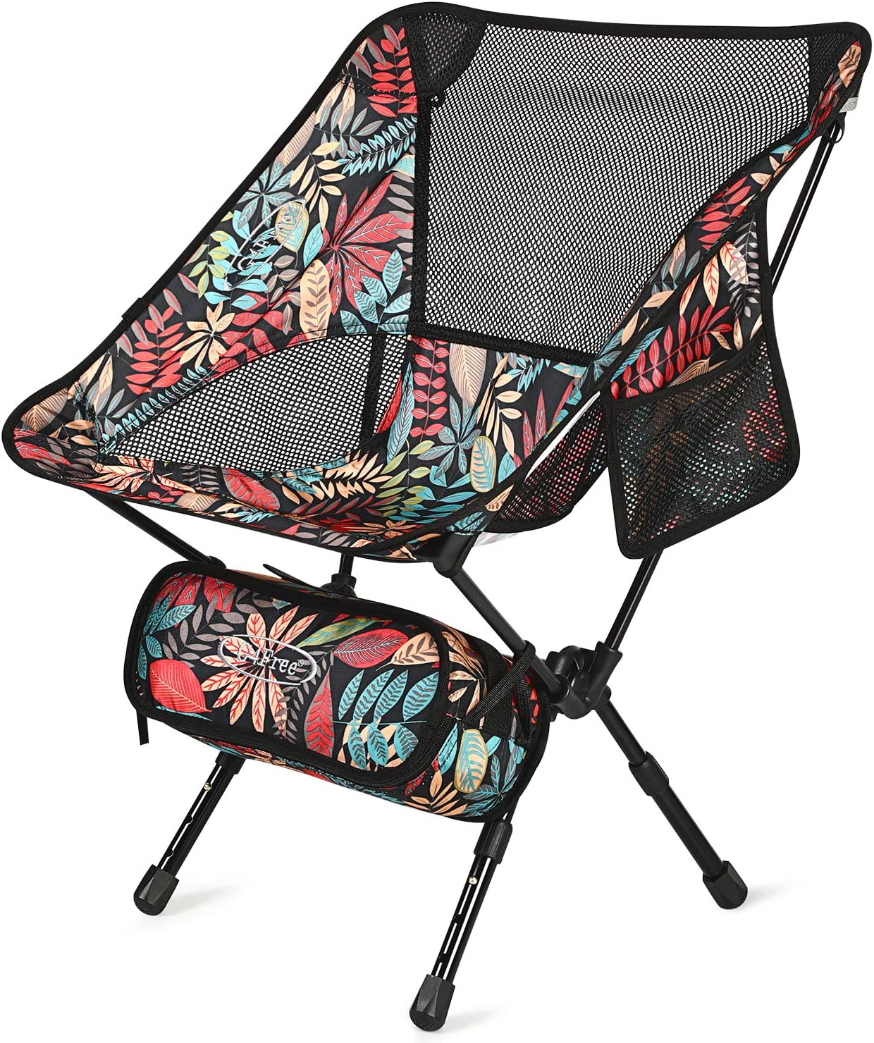 Picnic Camp Beach Festival Travel Backpacking Hiking G4Free Upgraded 2 Pack Ultralight Folding Camping Chair Portable Compact Heavy Duty for Outdoor