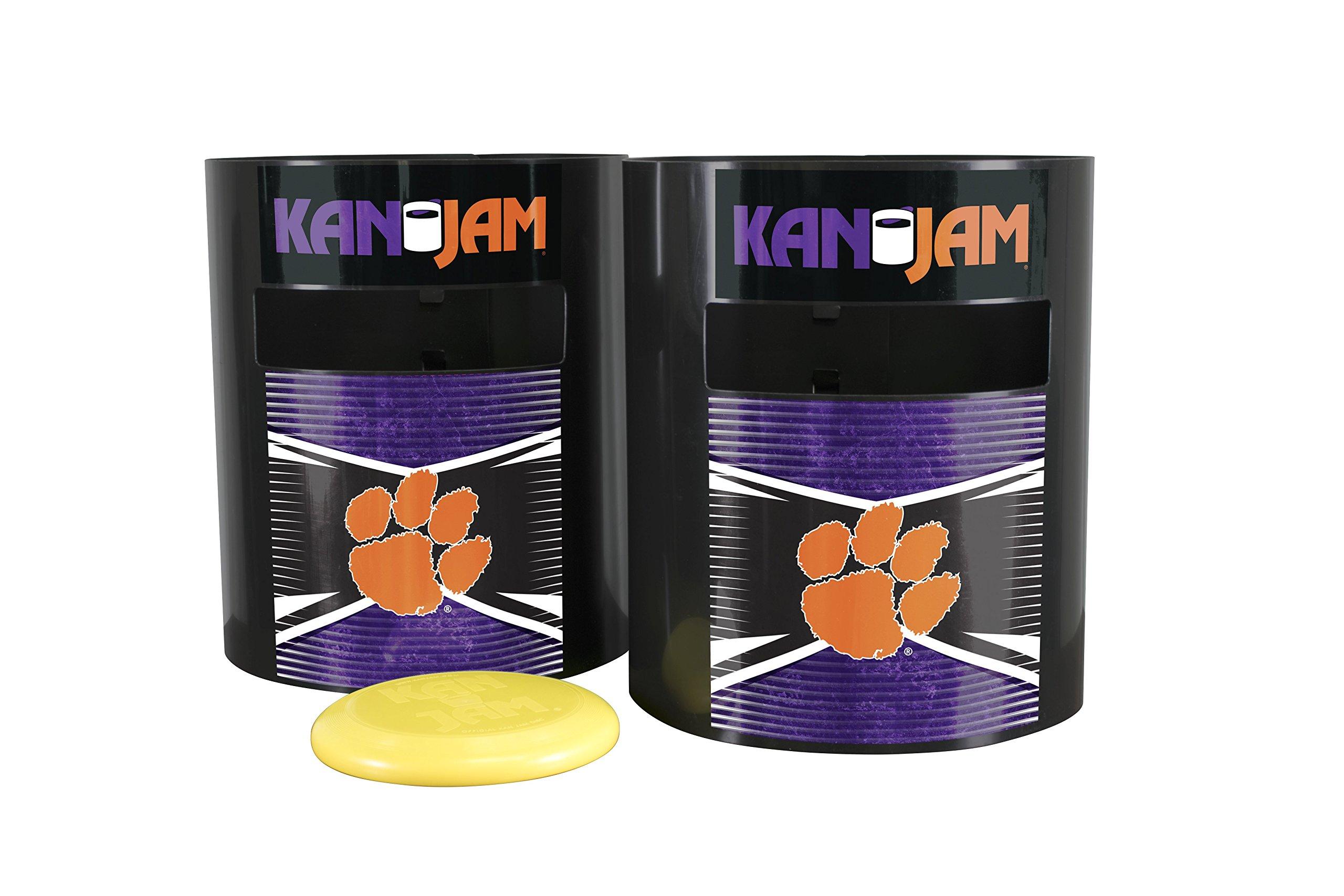 Kan Jam NCAA Clemson Tigers Disc Gameclemson Tigers Disc Game, Team Color, 11.875'' x 20'' x 9''
