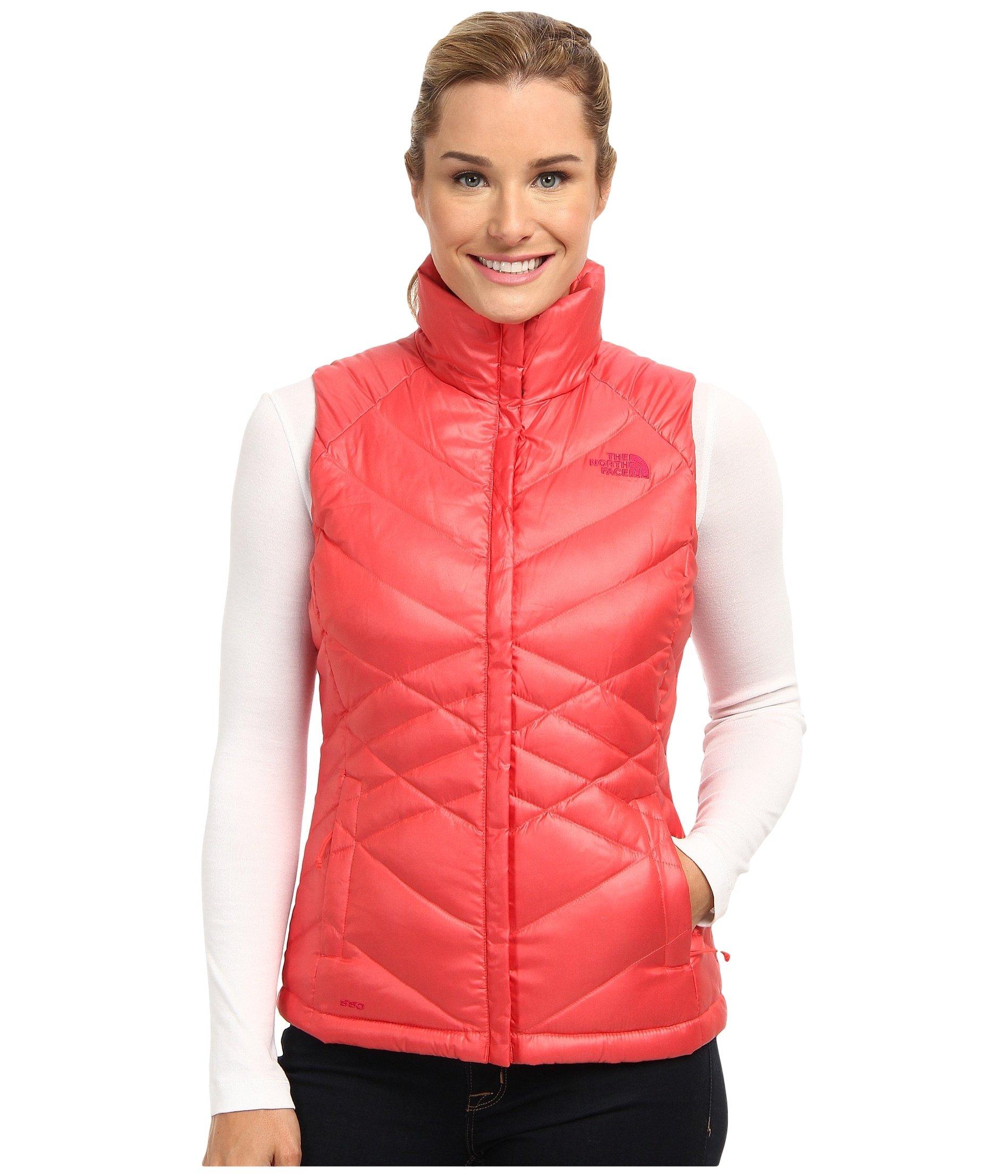 The North Face Aconcagua Vest Womens Vest Rambutan Pink S