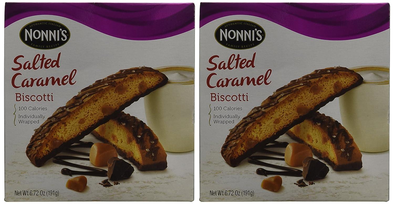 Nonnis Biscotti Salted Caramel