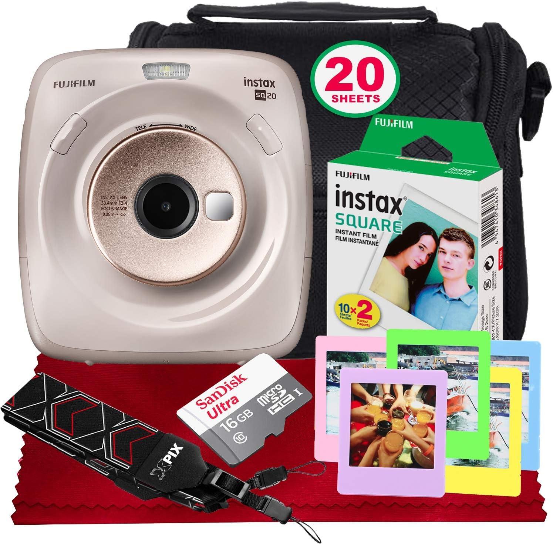 Fujifilm Instax Square Sq20 Hybrid Sofortbildkamera Kamera