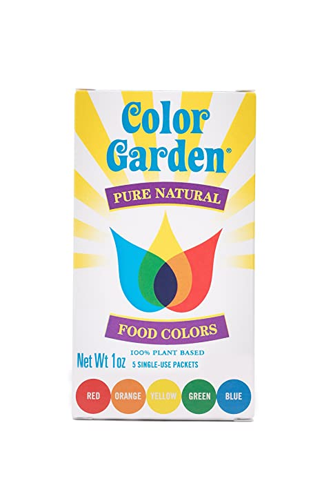Top 9 Color Garden Pure Natural Food Colors