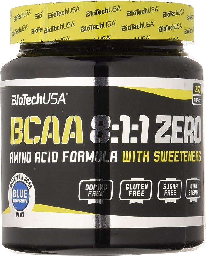 Biotech Bcaa 8:1:1 Zero Aminoácido - 250 gr