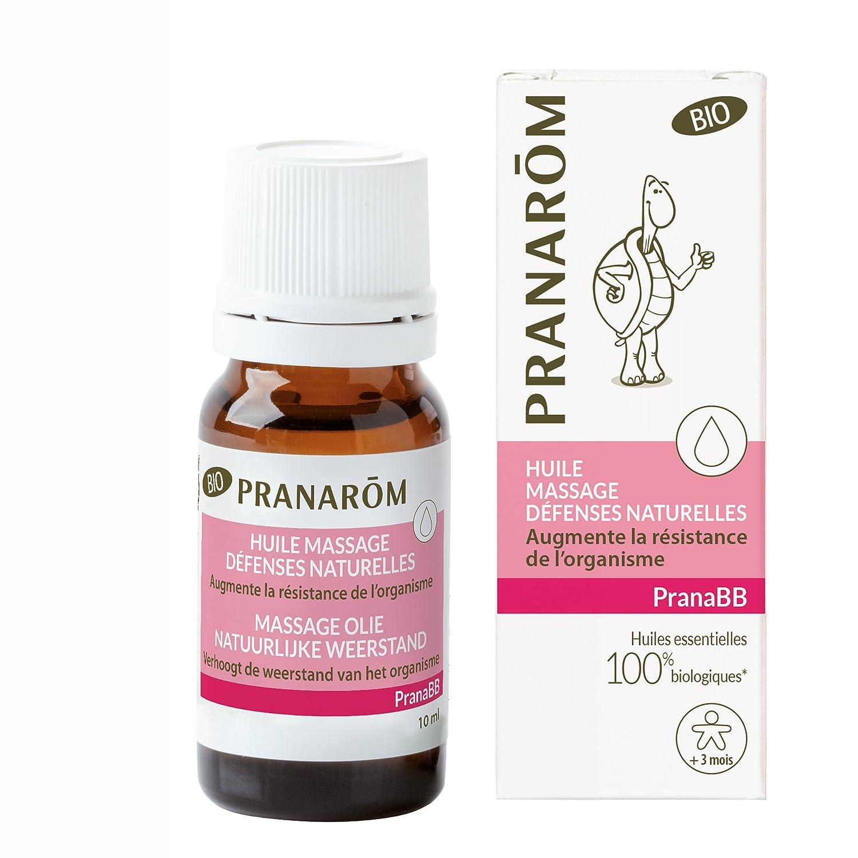 Pranabb huile de massage immunité 10 ml PRANAROM 10273