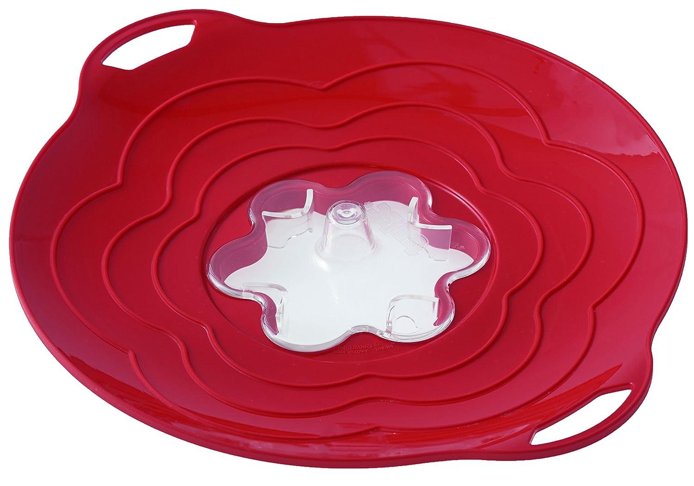 silikomart 72.032.01.0063 Decorazione Torta, Silicone, Rosso, 13x13x3 cm 194998