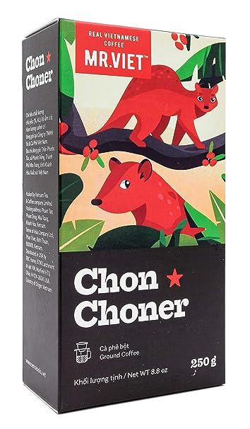Mr Viet Chon Choner | Mezcla Fresca de Auténtico Café Vietnamita Tostado Molido Análogo al Kopi