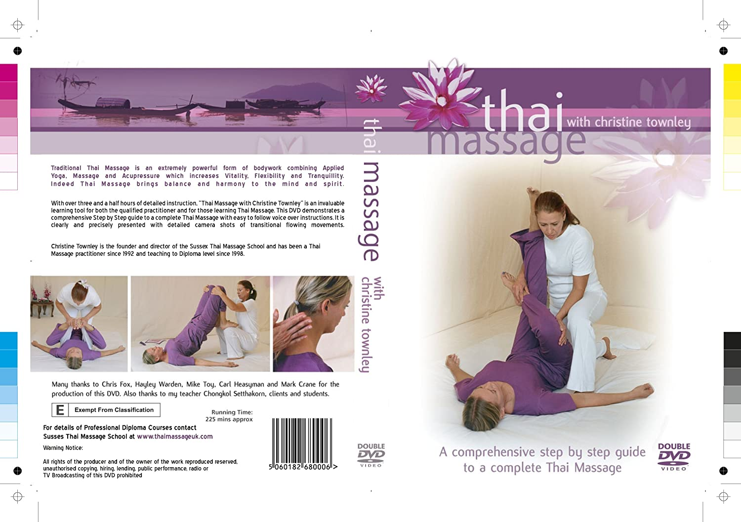 The thai massage workbook with kay rynerson in seattle.