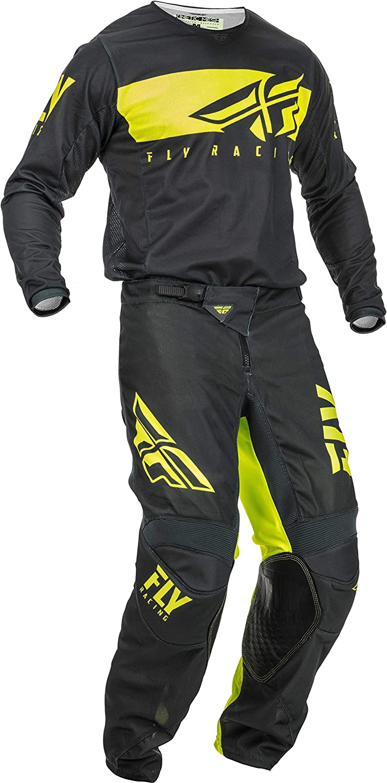 2X // 34 Adult XXL Fly Racing Kinetic Mesh Relapse Hi-Vis//Blue//Pink Jersey /& Pant Combo Set MX//ATV Riding Gear