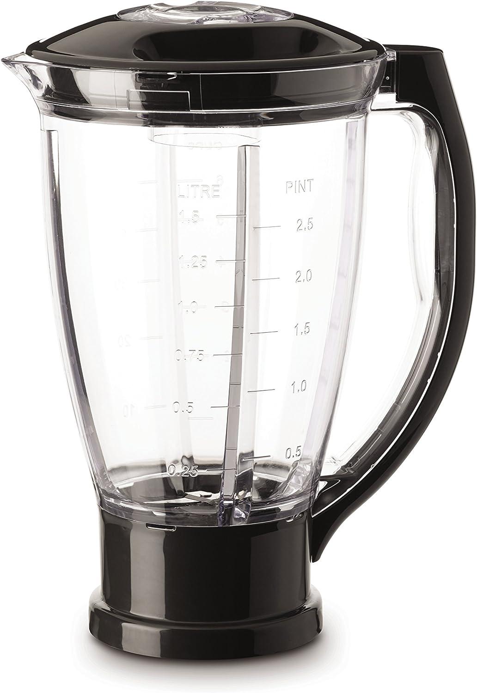Moulinex XF634BB1 - Vaso para batidora, 1.5 L, plástico, negro ...