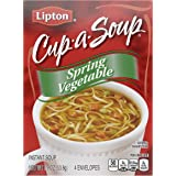 Lipton Instant Soup Mix Spring Vegetable 1.9 oz, Pack of 12