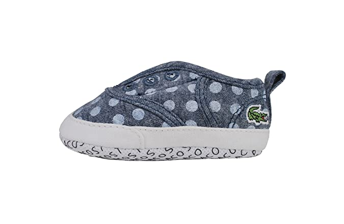 61169761d Lacoste Shoes Rene Crib PKD SPB Blue White Sneakers  Amazon.co.uk  Shoes    Bags