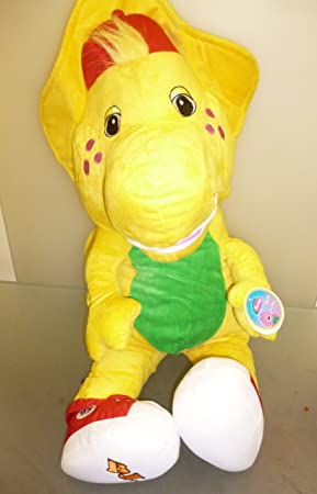 Barney and Friends -21 Inch Giant Sitting BJ Yellow Dinosaur