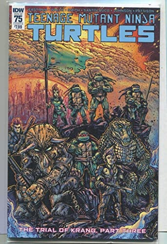 Amazon.com: Teenage Mutant Ninja Turtles #75 NM Cover B ...