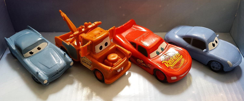 disney cars 3 plastic figurines set of 4 cake toppers ebay. Black Bedroom Furniture Sets. Home Design Ideas