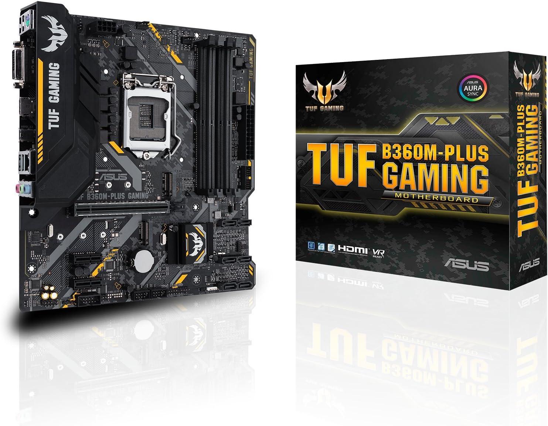 Asus Tuf B360m Plus Gaming Mainboard Sockel 1151 Computer Zubehör