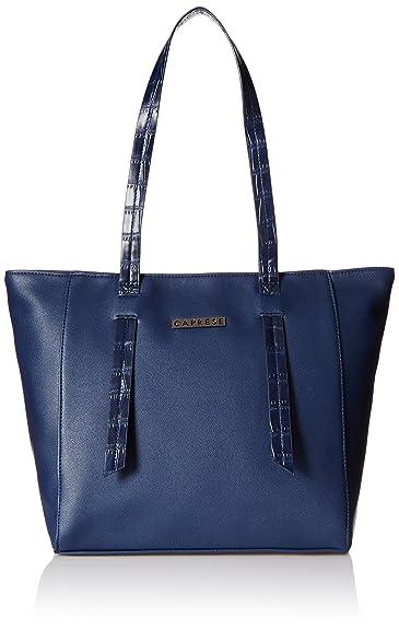 3356184c64e5 Caprese Evana Women s Tote Bag (Navy)  Amazon.in  Shoes   Handbags