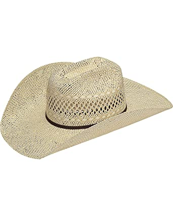 3dbbaabffe014 Twister M+F Foot and Headwear Mens Twisted Weave Straw Cowboy Hat 71 ...