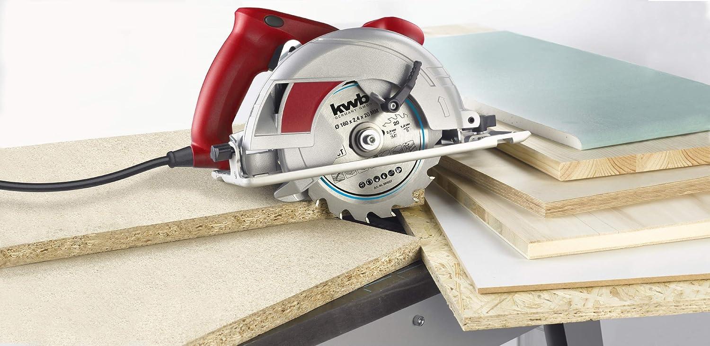190 x 20 mm, corte limpio, 30 dientes kwb 586757 Hoja de sierra circular para madera y madera dura