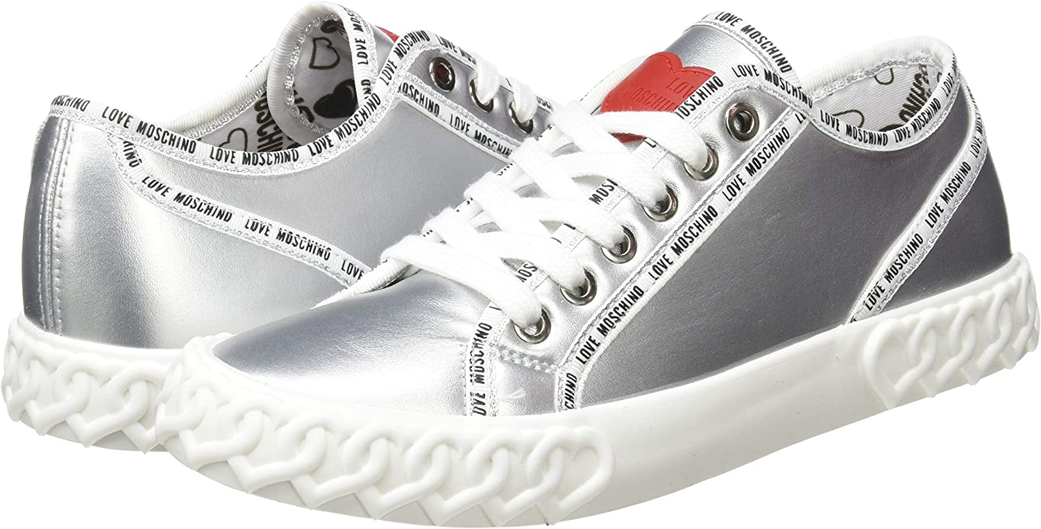 Love Moschino Womens Low-Top Gymnastics Shoes