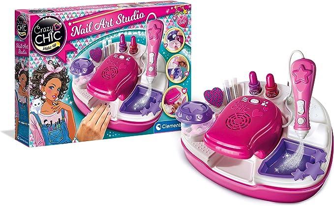 Clementoni- Crazy Chic Diseña tus uñas de luxe, Multicolor (15174.5): Amazon.es: Juguetes y juegos