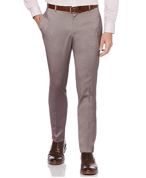 Buy Perry Ellis Men S Portfolio Very Slim Fit Stretch Iridescent Pant At Amazon In