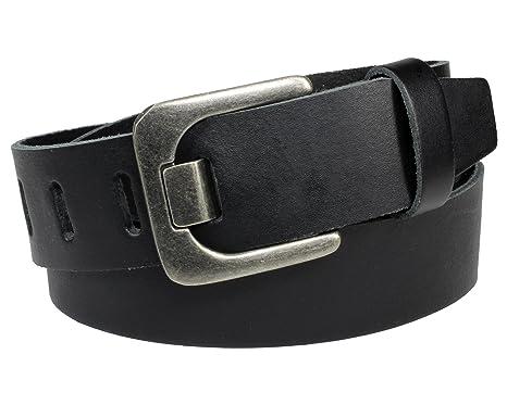 4cm breit Herren Gürtel Echt Leder VOLLLEDER Ledergürtel Hosengürtel Jeansgürtel
