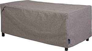 Modern Leisure 3002 Garrison Waterproof Outdoor Coffee Table/Ottoman (48 W x 25 D x 19 H inches) Heather Gray Patio Furniture Cover