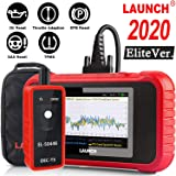 LAUNCH OBD2 Scanner CRP129E Scan Tool Code Reader for Engine/ABS/SRS/Transmission Systems with Oil lamp/EPB/SAS/TPMS/TPS Rese