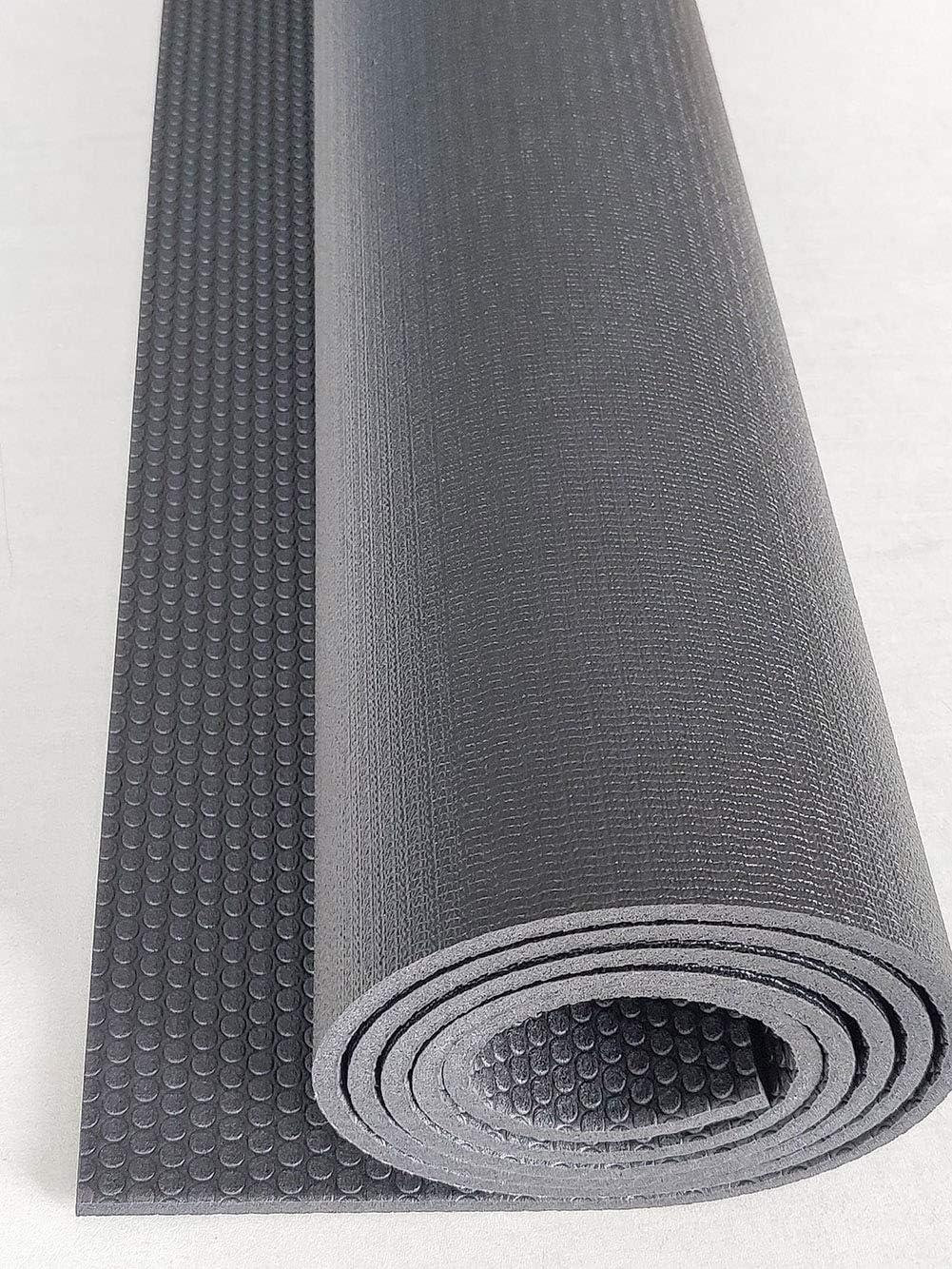 SRFDD Exercise Equipment Mat,PVC Floor Protector Pad Exercise Bike Mat Fitness Mat,Jump Rope Mat Gym Mat