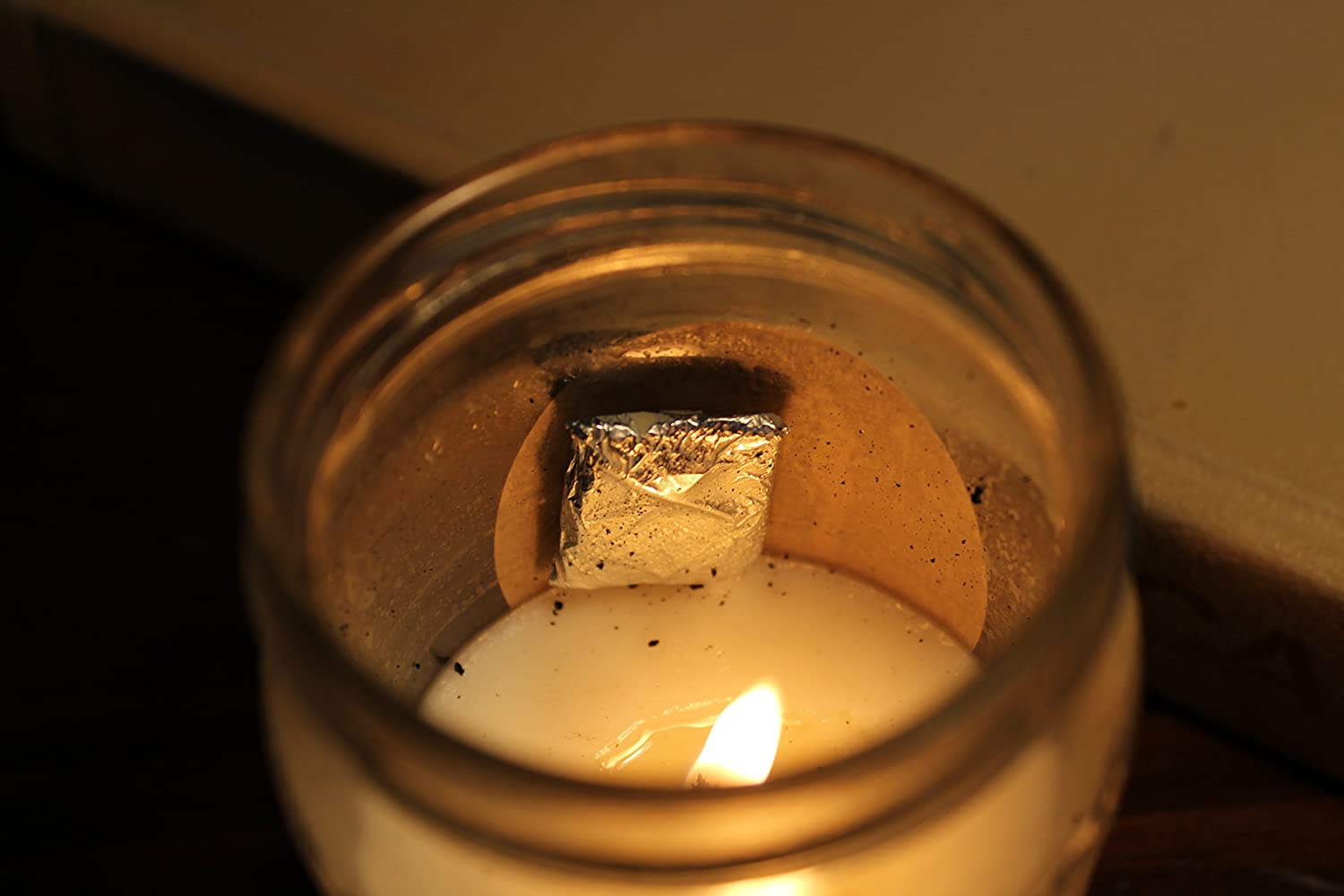 Soy Candle with A Gemstone Inside Surprise Semi-Precious Faceted Gemstone Valued $10-$5,000 Almost Paradise