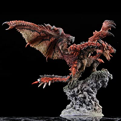 Capcom Monster Hunter World Rathalos Figure Builder Creator's Model Statue: Toys & Games