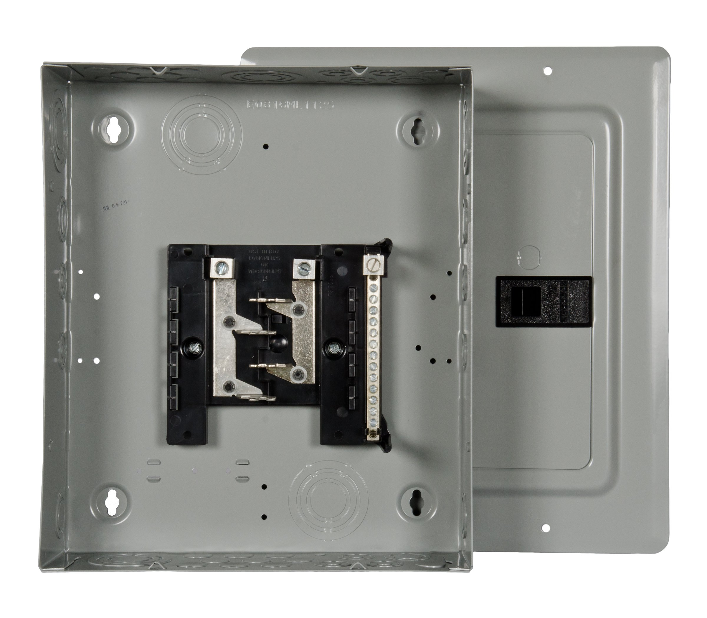 Murray LC008DFU Load Center, 8 Space, 16 Circuit, 125A, Main Lug, flush mount