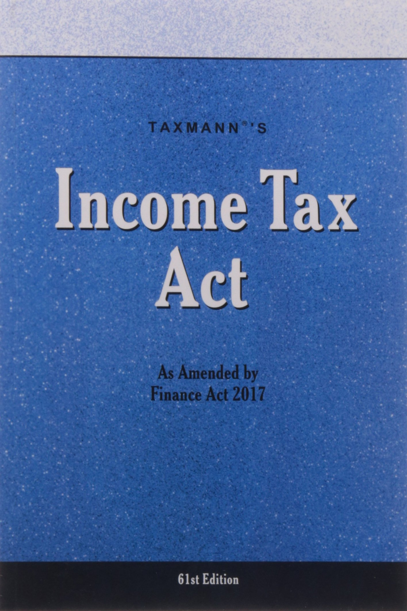 Amazon in: Buy Income Tax Act (Finance Act 2017) Book Online