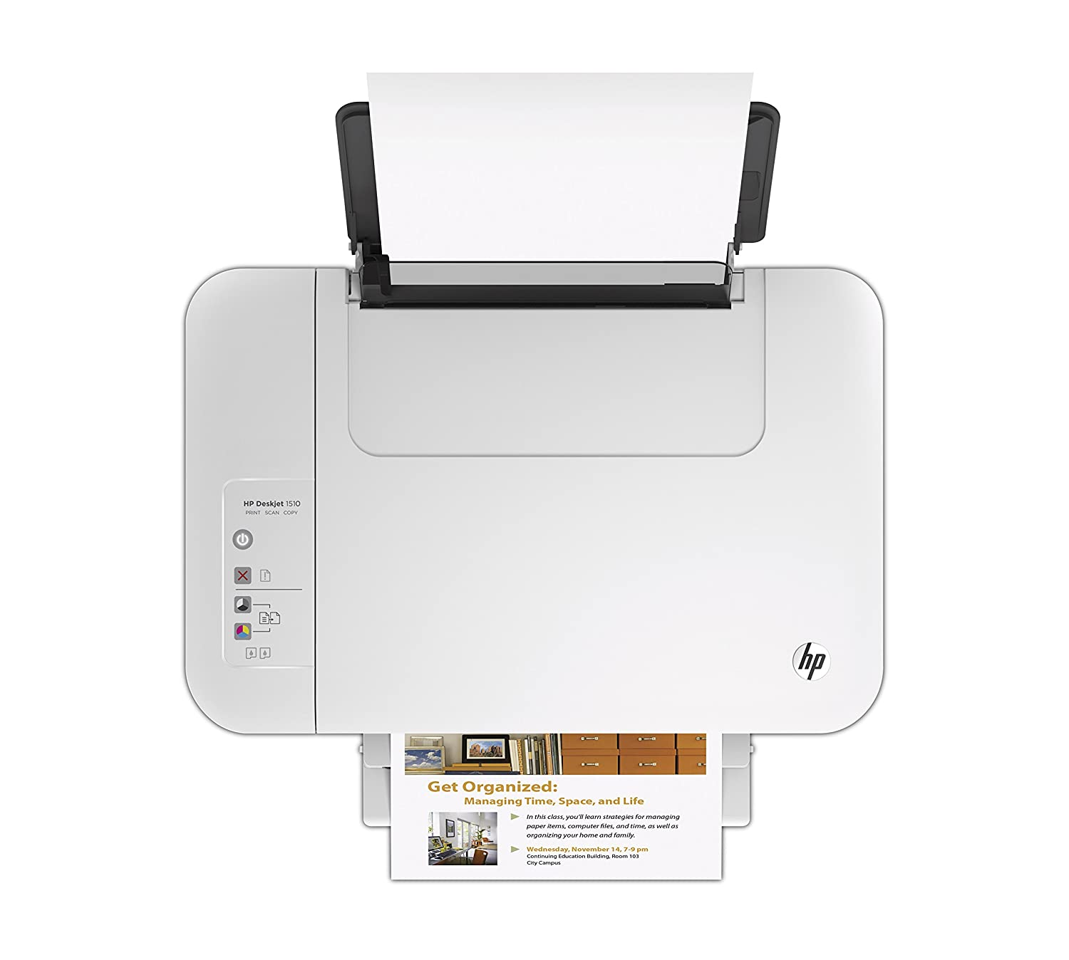 HP Deskjet 1512 All-in-One - Impresora multifunción de tinta (B/N ...