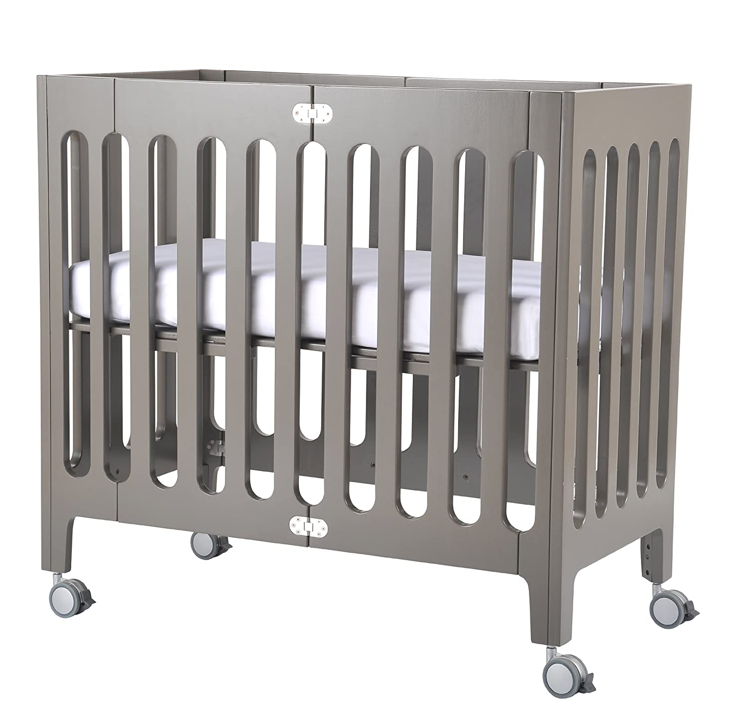 bloom alma urban crib frame frost grey amazonca baby -