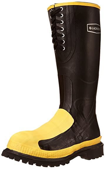 LaCrosse Men's Meta-Pac AP 16 Inch Boot,Black,7 ...