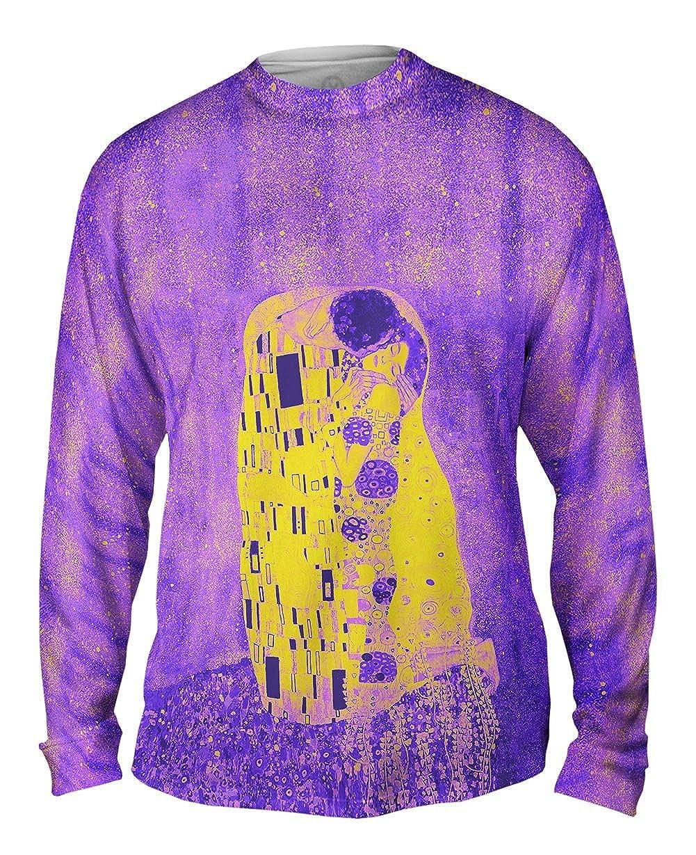 Mens Long Sleeve 2246 Yizzam Pop Art Pop Art Klimt The Kiss P