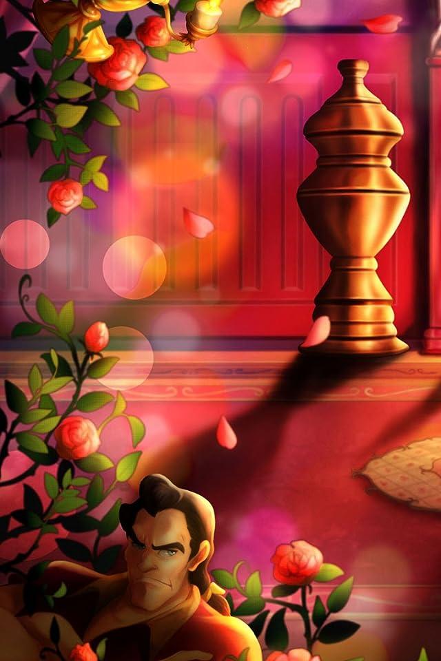 ディズニー ,ガストン  iPhone(640×960)壁紙画像