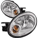 Dodge Neon headlights SRT All Chrome Headlamps Driver/Passenger Pair New