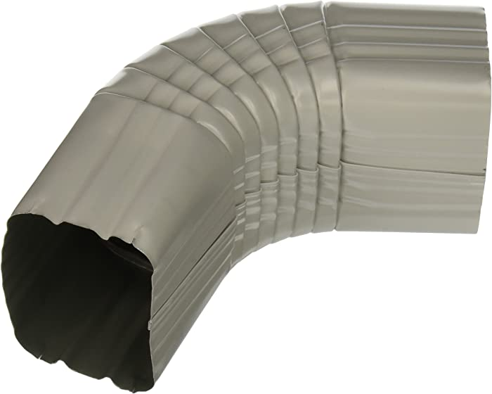The Best Amerimax Home Products 3X4 Flex Elbow Brown