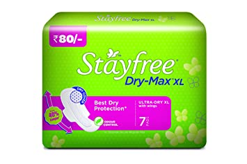 Stayfree Dry-Max Ultra-Dry XL (with wings, 7 pads)